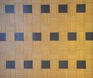Fondo di bambù della parete Fotografia Stock Libera da Diritti