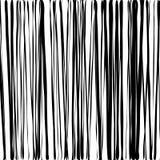 Fondo di bambù della parete di modo in bianco e nero Fotografia Stock