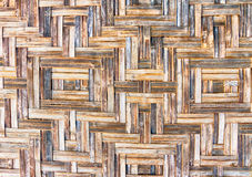 Fondo di bambù della parete - struttura Immagine Stock Libera da Diritti