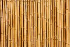 Fondo di bambù del recinto Fotografie Stock