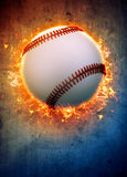 Fondo di baseball Fotografia Stock