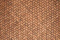 Fondo di Beuatiful di struttura del canestro del rattan o del bambù Fotografia Stock