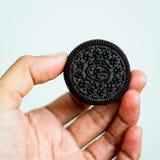 Fondo di bianco dei biscotti Fotografia Stock Libera da Diritti