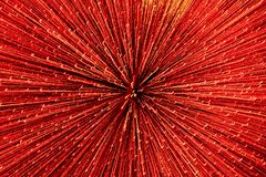 Fondo di Blured con le linee luminose di luce rossa royalty illustrazione gratis
