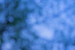 Fondo di Bokeh con la tonalità blu Immagini Stock