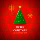 Fondo di Buon Natale Immagine Stock Libera da Diritti