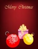 Fondo di Buon Natale Immagini Stock Libere da Diritti
