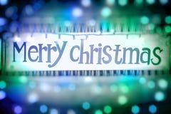 Fondo di Buon Natale Fotografia Stock Libera da Diritti