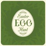 Fondo di caccia dell'uovo di Pasqua di vettore Fotografia Stock Libera da Diritti