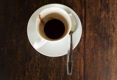 Fondo di caffè finito Fotografie Stock