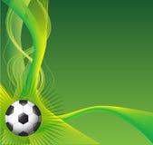 Fondo di calcio Fotografia Stock Libera da Diritti