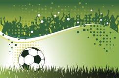 Fondo di calcio Immagini Stock