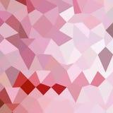 Fondo di Cameo Pink Abstract Low Polygon Fotografie Stock