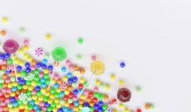 Fondo di Candy Fotografia Stock