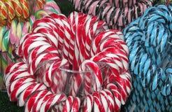 Fondo di Candy Natale giusto Immagine Stock
