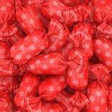 Fondo di Candy, rappresentazione 3D Immagine Stock