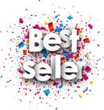 Fondo di carta del best-seller Fotografie Stock