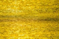 Fondo di carta di struttura dell'oro Fotografie Stock Libere da Diritti