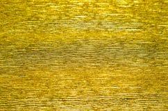 Fondo di carta di struttura dell'oro Immagini Stock Libere da Diritti