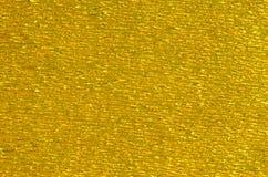 Fondo di carta di struttura dell'oro Fotografia Stock