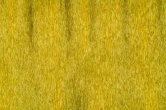 Fondo di carta di struttura dell'oro Fotografie Stock