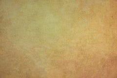 Fondo di carta giallo corrugato irregolare Fotografia Stock