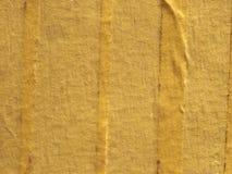 fondo di carta giallo di struttura di nastro adesivo Immagini Stock