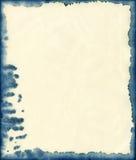 Fondo di carta macchiato inchiostro Fotografie Stock