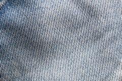 Fondo di carta di Scrapbooking del tessuto di struttura dei jeans Fotografia Stock Libera da Diritti