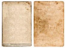 Fondo di carta usato lerciume Struttura d'annata della foto Fotografia Stock