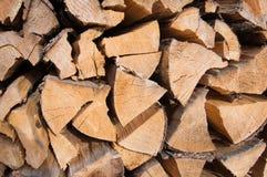 Fondo di catasta di legna Immagine Stock Libera da Diritti