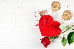 Fondo di celebrazione dei biglietti di S. Valentino Fotografia Stock Libera da Diritti