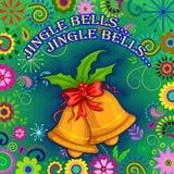 Fondo di celebrazione di festa di Buon Natale Immagini Stock