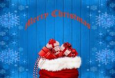 Fondo di celebrazione di Natale Fotografie Stock Libere da Diritti
