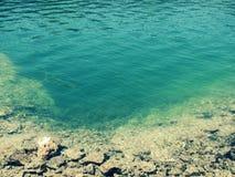 Fondo di chiaro lago Immagini Stock Libere da Diritti