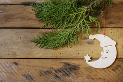 Fondo di Christmasy Immagine Stock Libera da Diritti