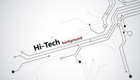 fondo di Ciao-tecnologia Immagini Stock