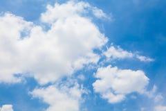 Fondo di cielo blu Immagini Stock Libere da Diritti