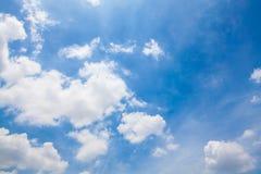 Fondo di cielo blu Immagine Stock