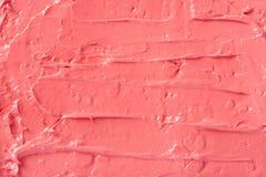 Fondo di colore del corallo rosso del rossetto Fotografia Stock Libera da Diritti