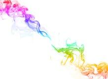 Fondo di colore del fumo Immagine Stock