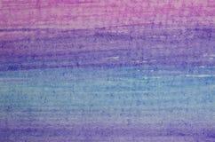 Fondo di colore dell'acquerello Fotografie Stock