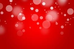 Fondo di colore rosso con bokeh Fotografia Stock