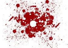 Fondo di colore rosso di lerciume di vettore Schizzi il backgroun di colore rosso Fotografie Stock