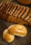Fondo di concetto dell'alimento del pane Immagine Stock
