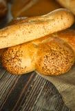 Fondo di concetto dell'alimento del pane Fotografia Stock Libera da Diritti