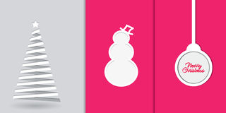 fondo di concetto della carta da parati di Buon Natale Immagini Stock