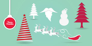 fondo di concetto della carta da parati di Buon Natale Fotografia Stock Libera da Diritti