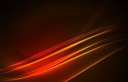 Fondo di concetto delle luci polari di vettore Immagini Stock