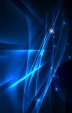 Fondo di concetto delle luci polari di vettore Immagine Stock Libera da Diritti